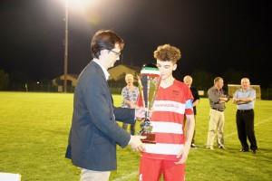 consegna trofeo 2° posto